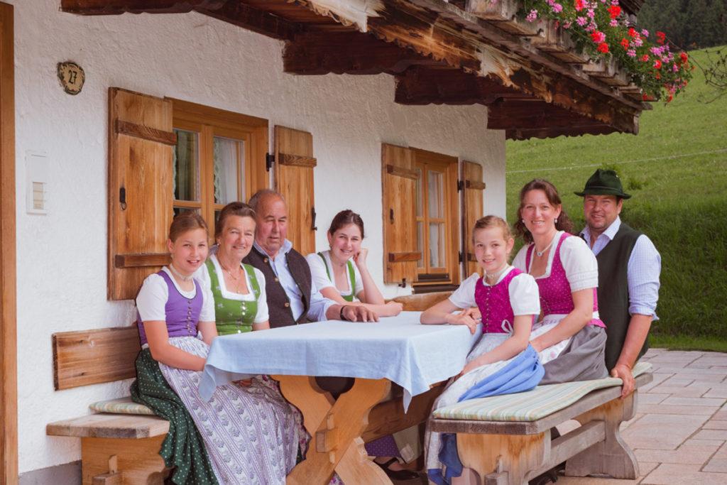 Tegernseer Weiderind Familie Berghammer