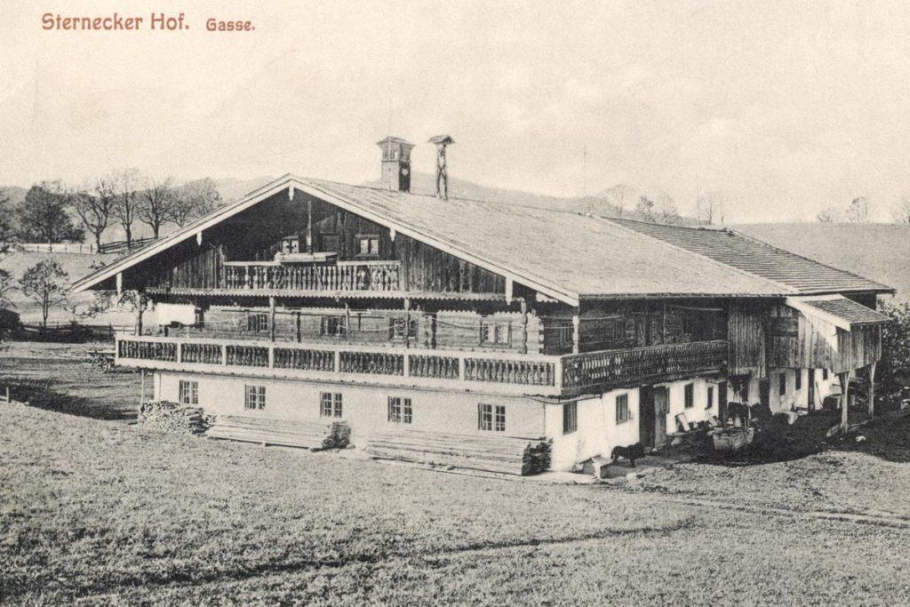 Sterneckerhof Früher
