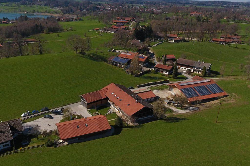 Sterneckerhof Luftbild